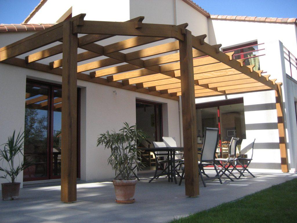 pergola protection solaire espace menuiserie lami. Black Bedroom Furniture Sets. Home Design Ideas
